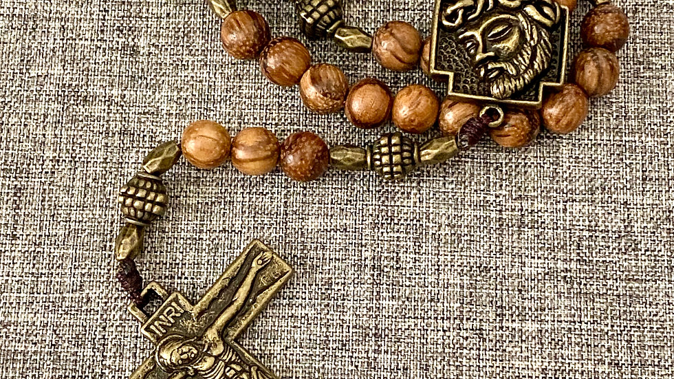 Rosary Face of Jesus.