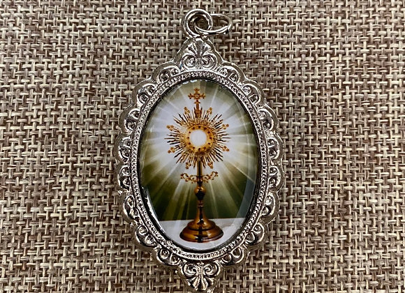 Eucharist color medal