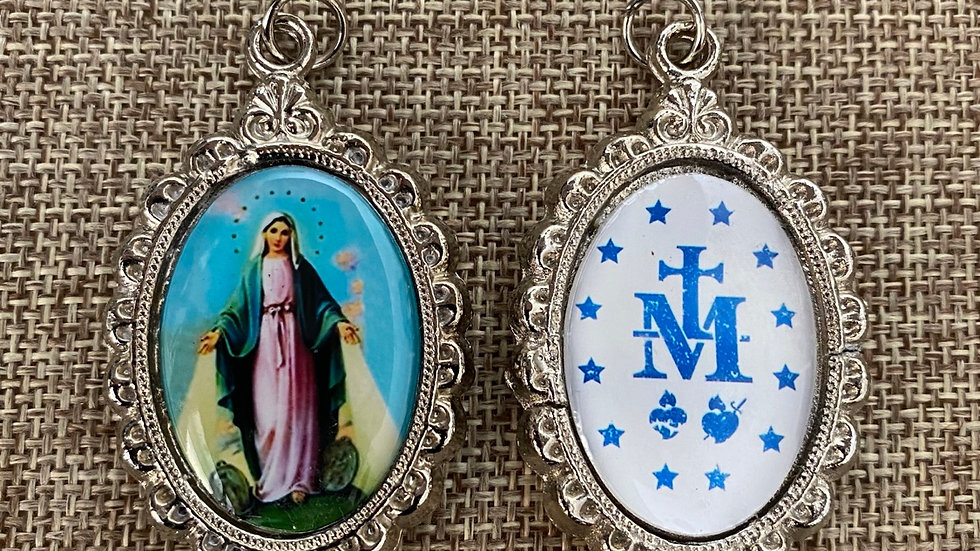Miraculous color medal