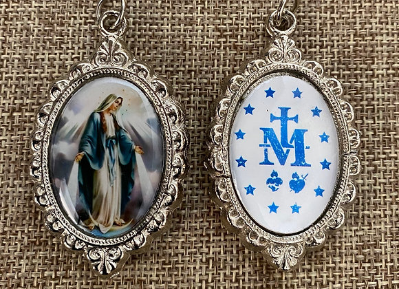 Miraculous medal color  B.