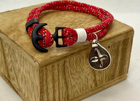 Bracelet silver color cross