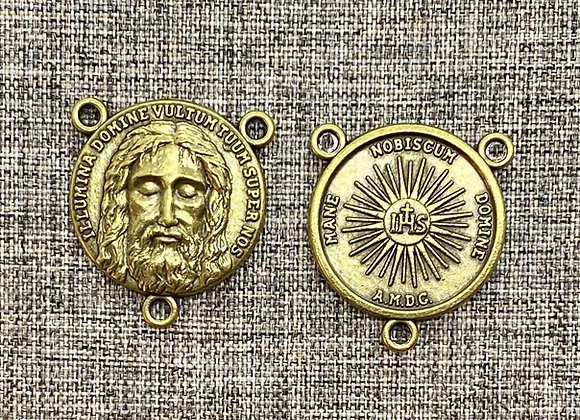 Holy Face medal connector
