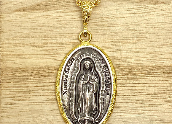 Necklace Our Lady Guadalupe,