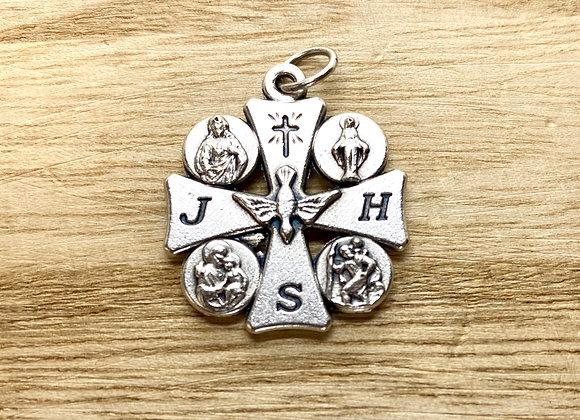Cross Saints and Holy Spirit, Italian