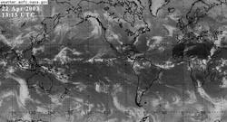 Satelite Storm over Gulf of Alaska