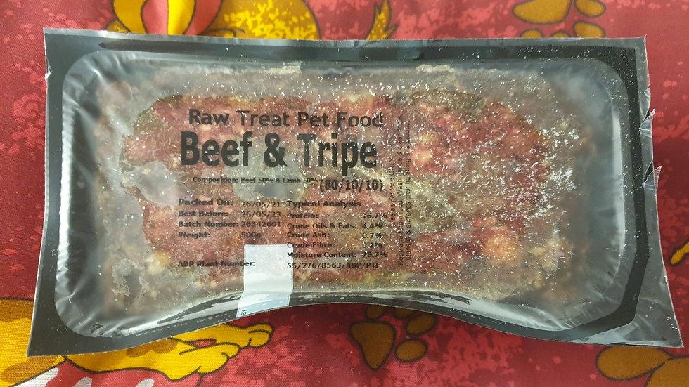 Raw Treat Beef & Tripe