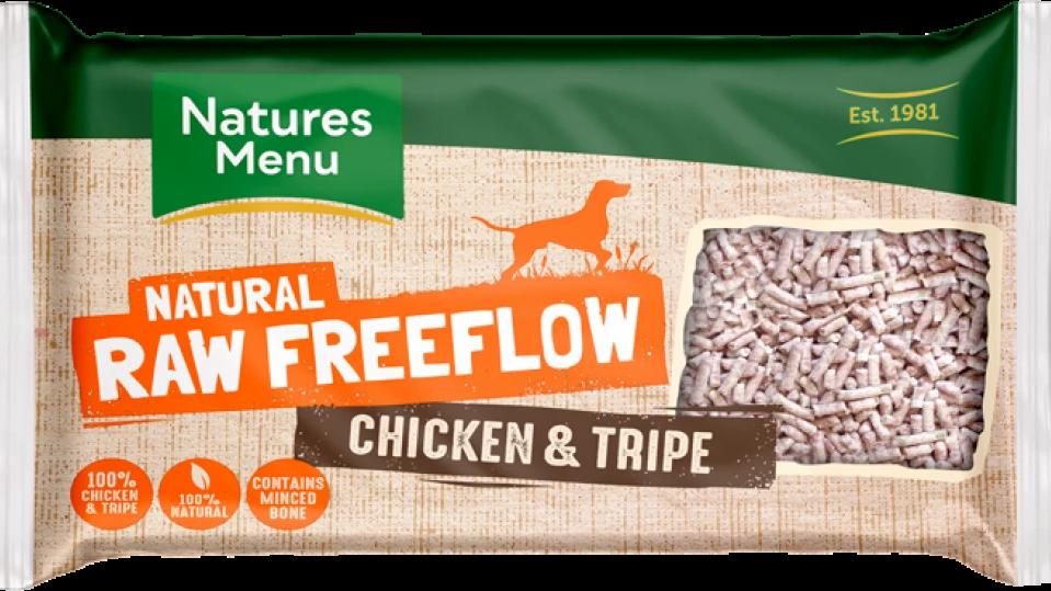 Chicken & Tripe Freeflow Mince