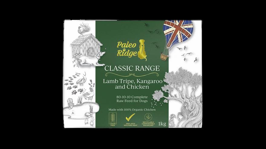 Classic Lamb Tripe, Kangaroo and Chicken (1kg)