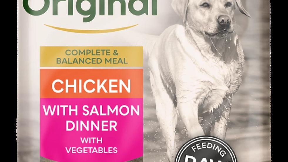 Chicken with Salmon Dinner