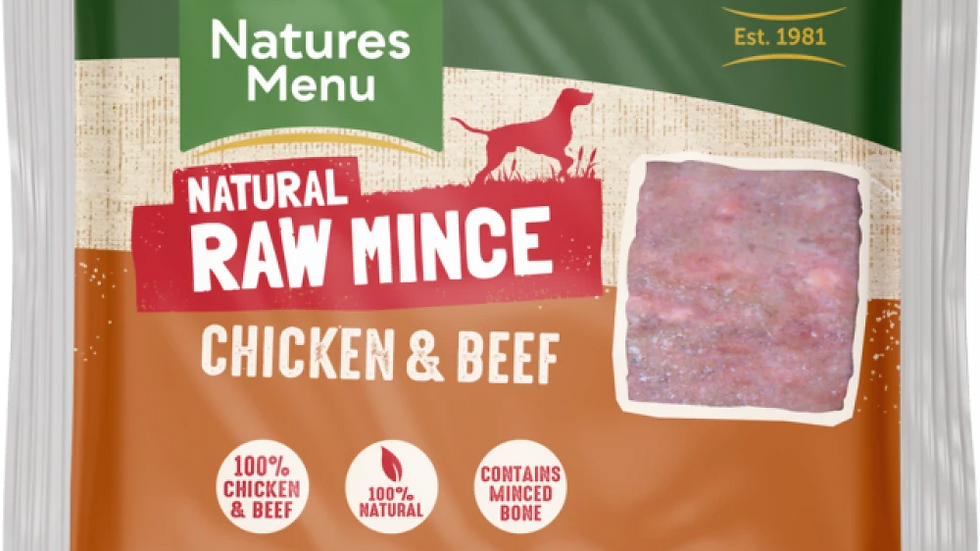 Just Chicken & Beef Raw Mince