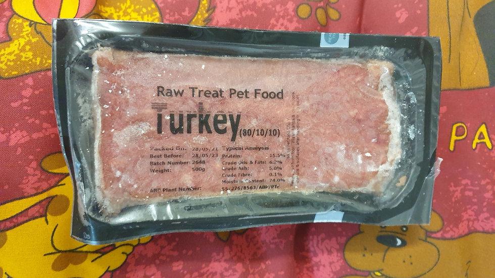 Raw Treat Turkey