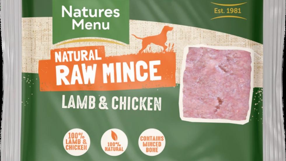 Just Lamb & Chicken Mince