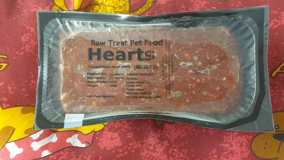 Raw Treat Heart