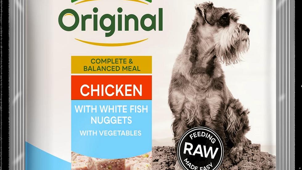Chicken with White Fish Senior Nuggets
