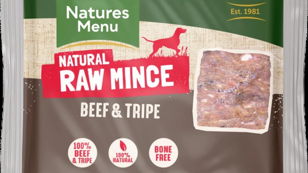 Just Beef & Tripe Raw Mince