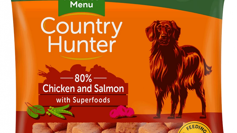Country Hunter Chicken and Salmon Nuggets