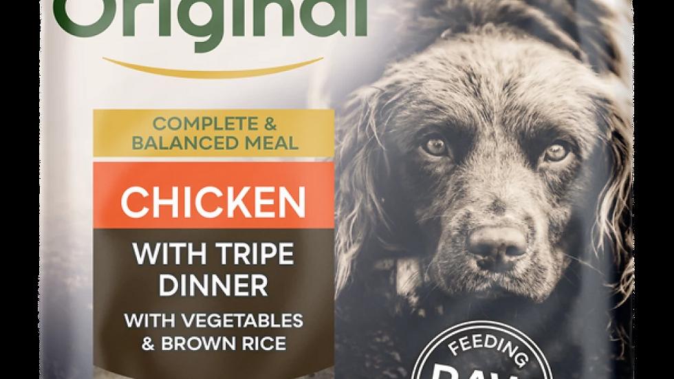 Chicken with Tripe Dinner