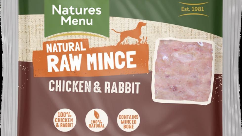 Just Chicken & Rabbit Raw Mince