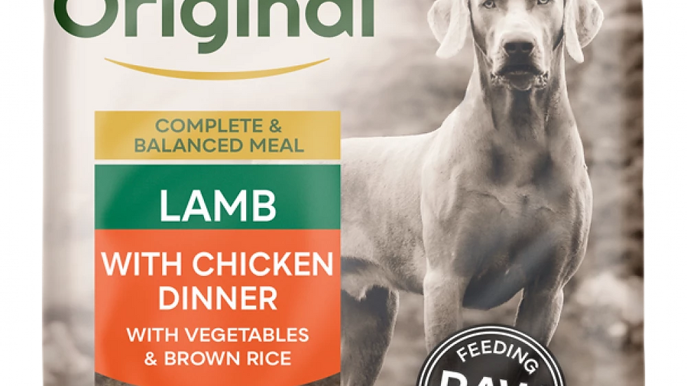 Lamb with Chicken Dinner