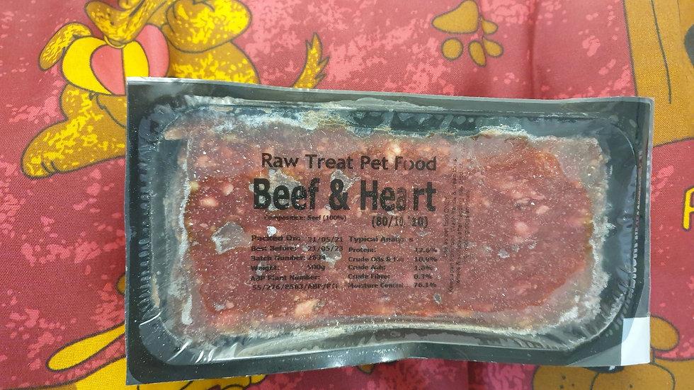 Raw Treat Beef & Heart