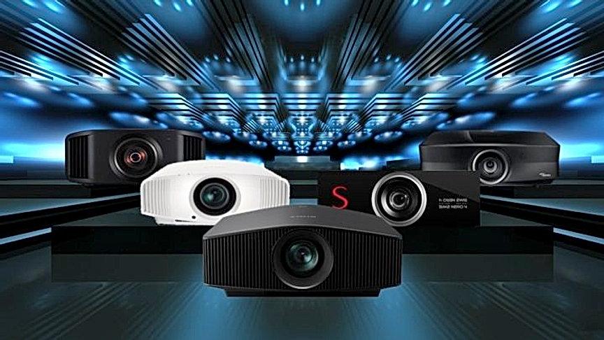 Лучшие проекторы для домашнего кинозала.