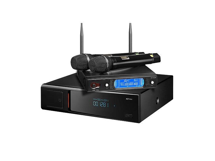 Комплект:  караоке - система AST Mini  / вокальная радиосистема AST 922m