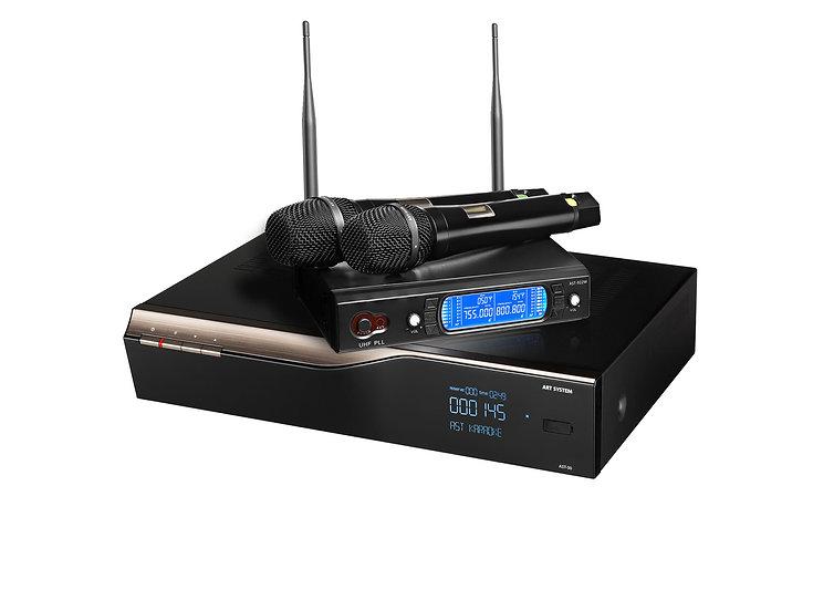 Комплект:  караоке - система AST-50  / вокальная радиосистема AST 922m