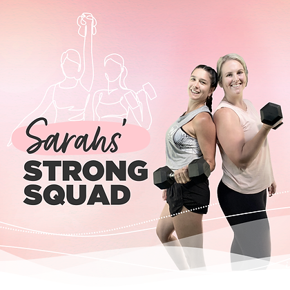 Sarahs' Strong Squad Challenge