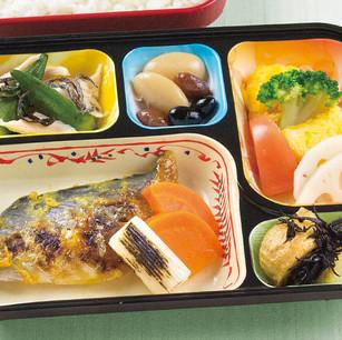 サワラの西京焼き・三色煮豆 他