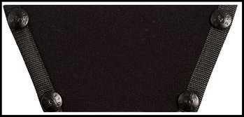 Solid Black OneSoleShoe top only