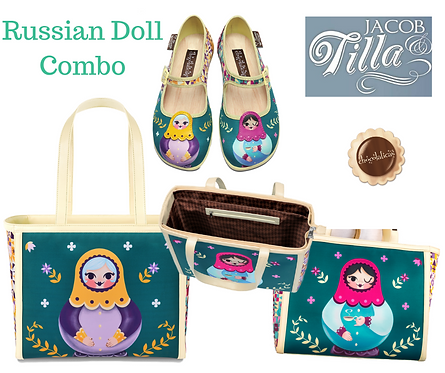 Tote bag Russian Doll