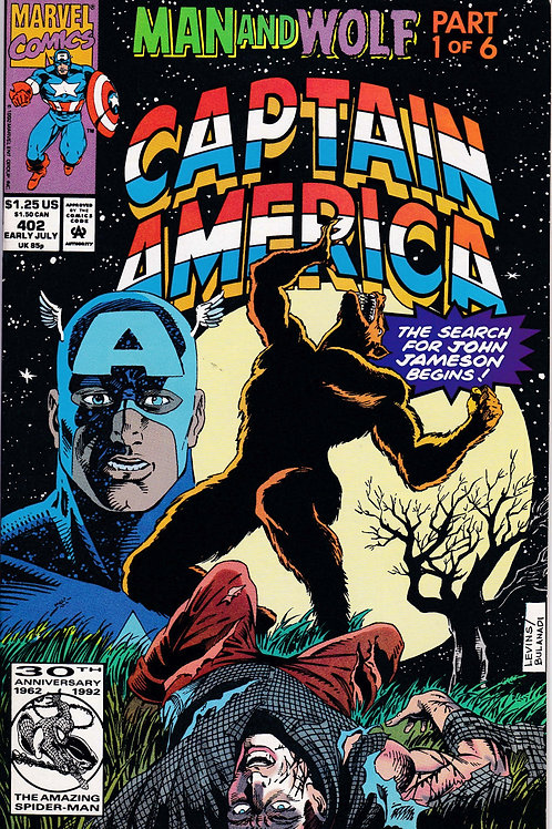 Captain America 402 Man & Wolf Pt 1 of 6