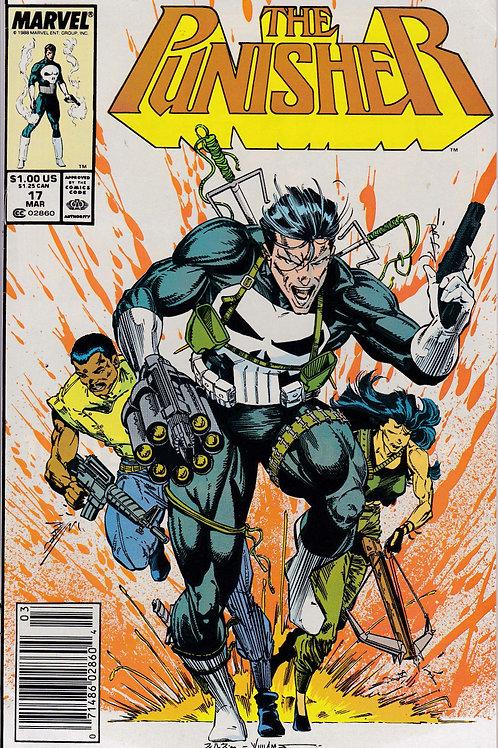 PUNISHER 17 Vol 2 Mar 89 Marvel Kingpin