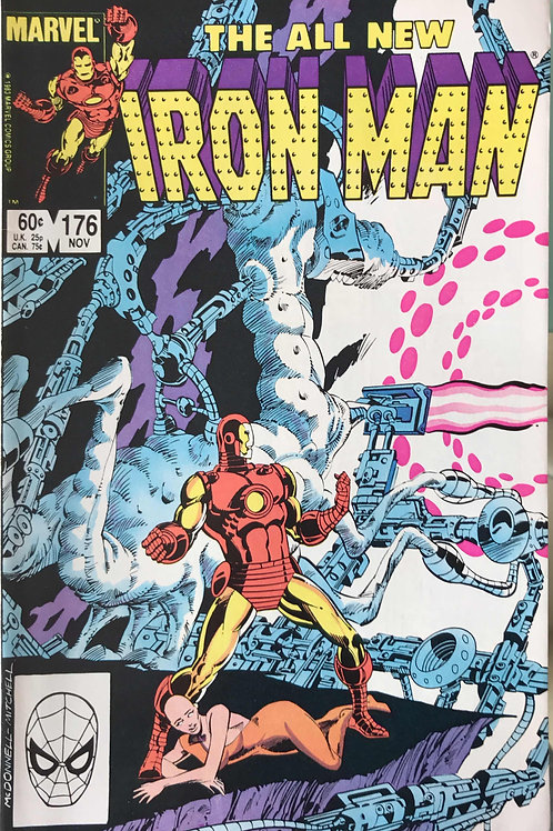 IRON MAN 176 Nov 83 Tony Stark Learns a Lesson