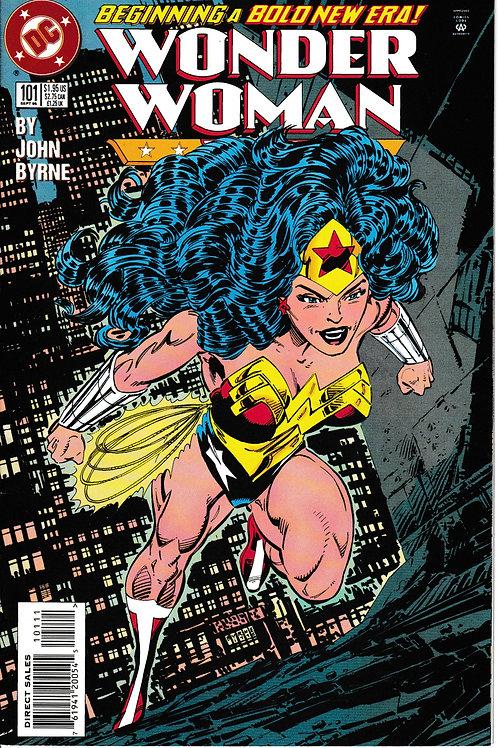 WONDER WOMAN 101 Sept 95 DC 2nd Series Second Genesis Part 1 of 4 John Byrne