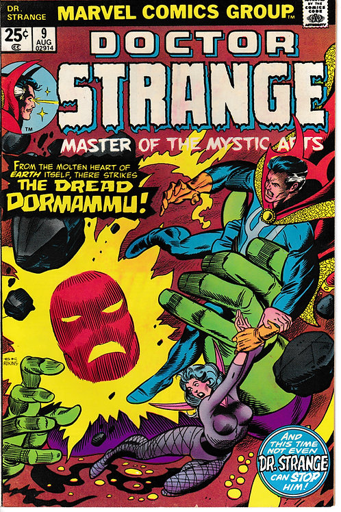 DOCTOR STRANGE 9 Marvel Aug 75 Strange transfers power to Clea