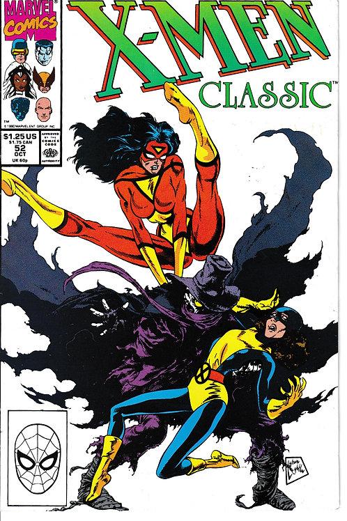 X-Men Classic 52 Oct 90 Chris Claremont Script Angel leaves the X-Men
