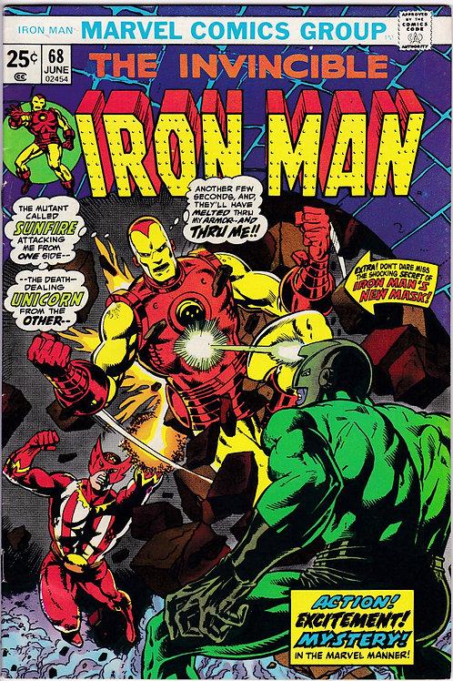 Iron Man 68 June 74 Guest Stars Sunfire