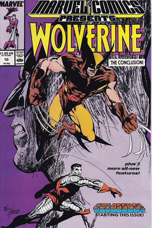 Marvel Comics Presents Wolverine 10 Claremont Buscema