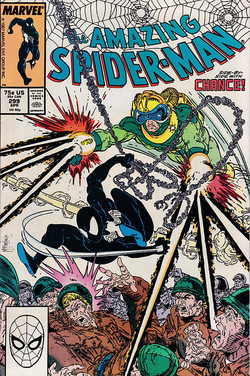 AMAZING SPIDER-MAN 299 1st Brief Appearance Venom with Costume