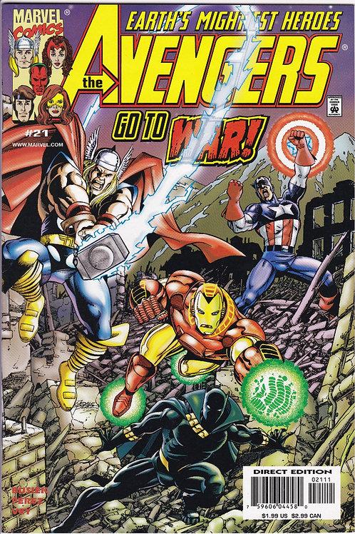 AVENGERS 21 Vol 3 Marvel Oct 99 N/M Guest Stars Black Panther