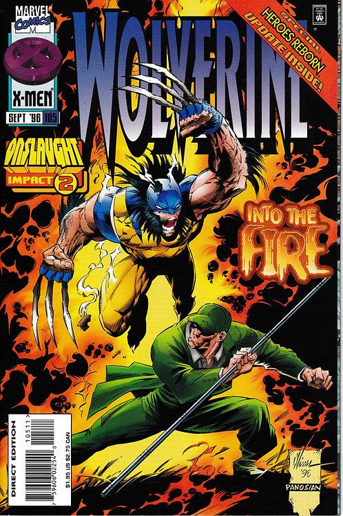 WOLVERINE 105 Marvel Sept Onslaught Impact 2