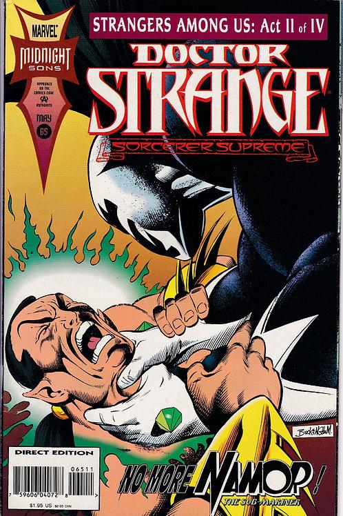 DOCTOR STRANGE SORCERER SUPREME 65 Marvel May 94  Inc Masterprint Card