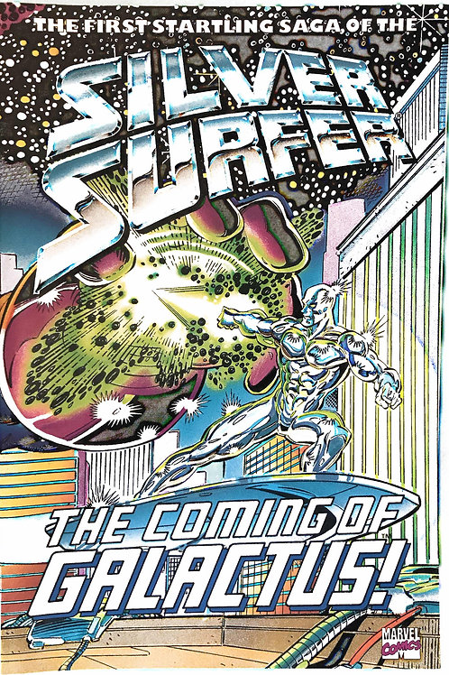 SILVER SURFER THE COMING OF GALACTUS