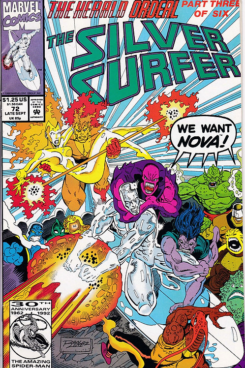 Silver Surfer 72 Herald Ordeal