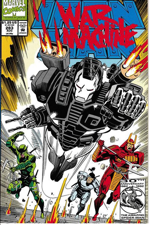 IRON MAN 283 Aug 92 Iron Man In New War Machine Armour