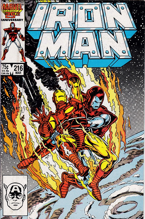 Iron Man 216 James Rhodes Appears as Iron Man