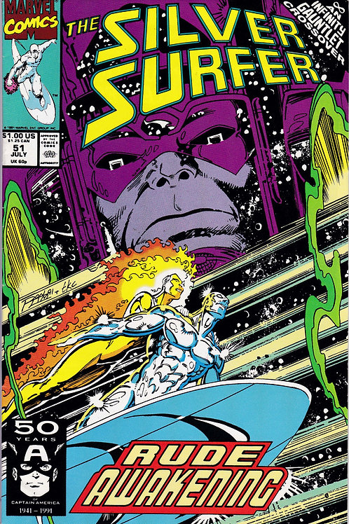 Silver Surfer 51 Infinity Gauntlet X-Over