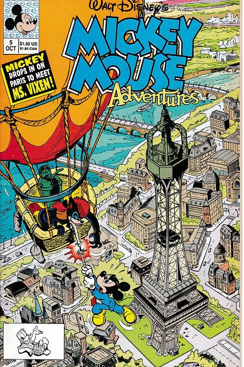 MICKEY MOUSE ADVENTURES 5 Oct 90 Walt Disney Case of the Foxy Melon