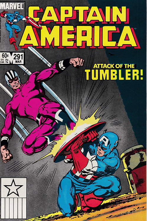 Captain America 291 John Byrne Cover